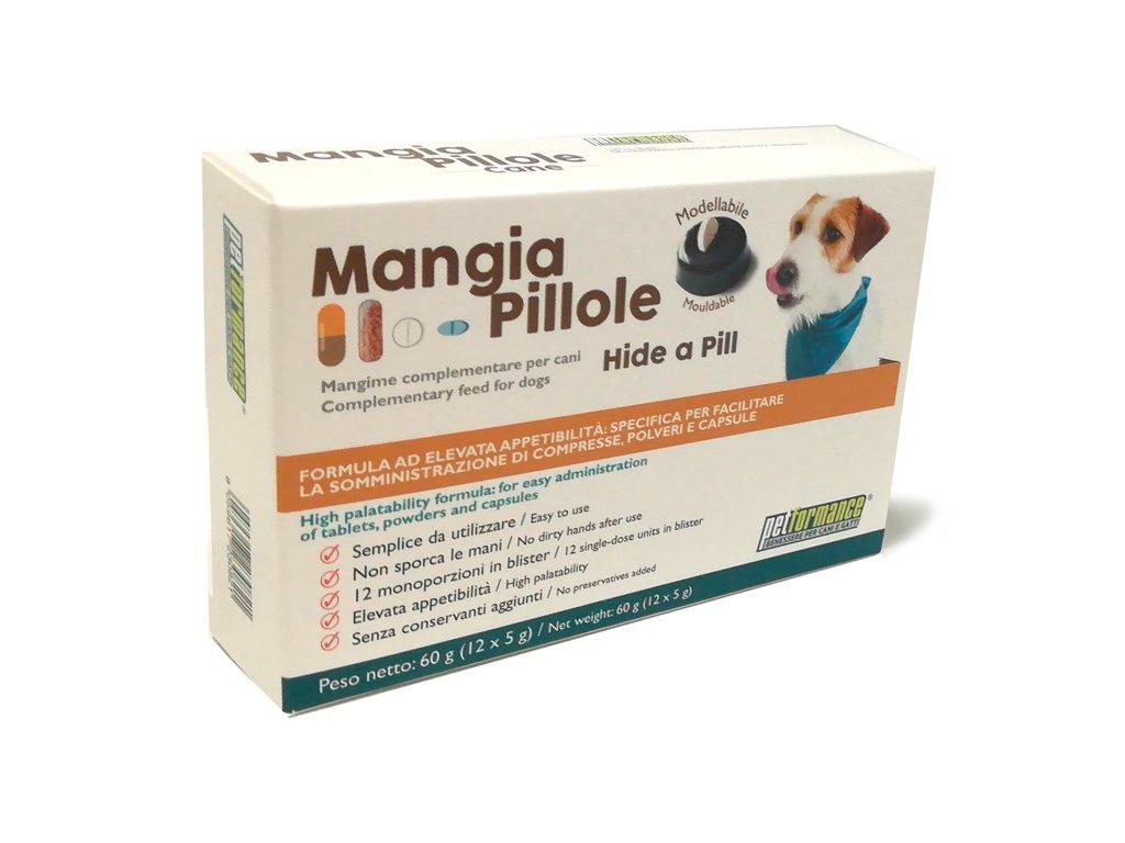 schovavacka tablety pre psov