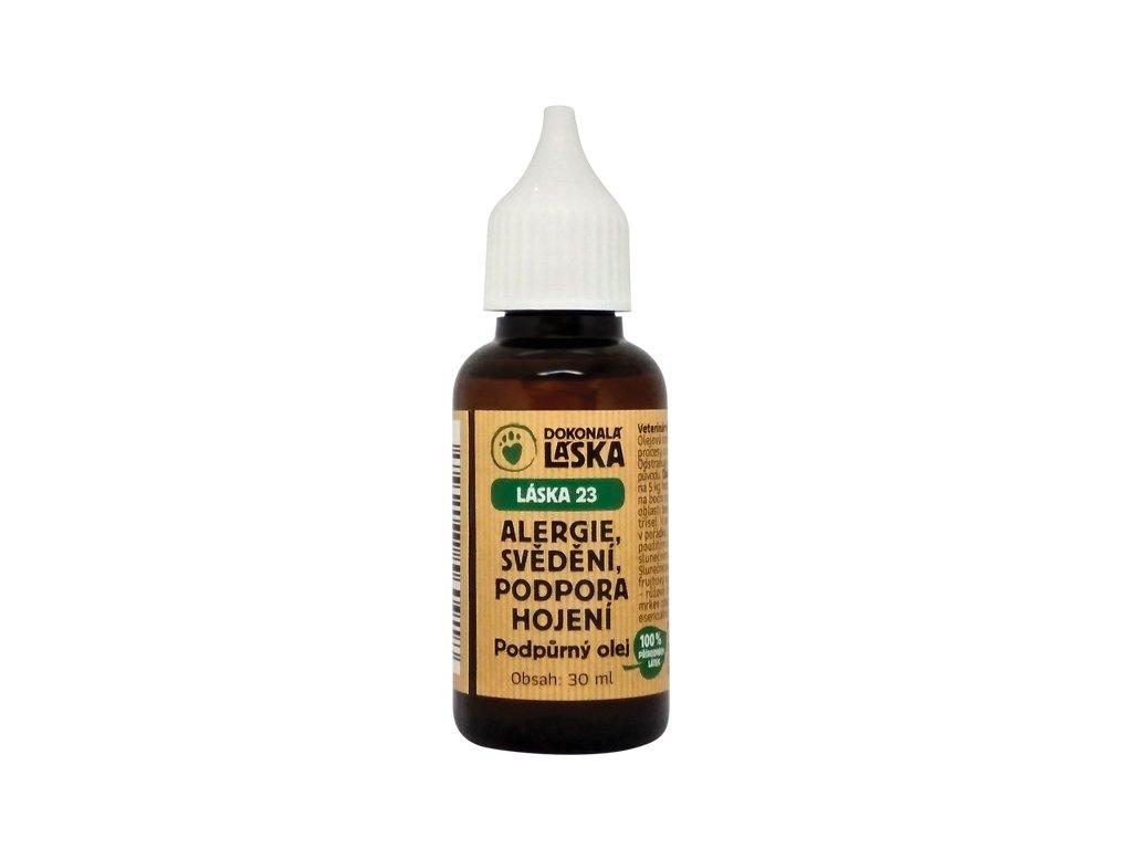 dokonala laska 23 podporny olej alergie svedeny podpora hojeni dogee sk