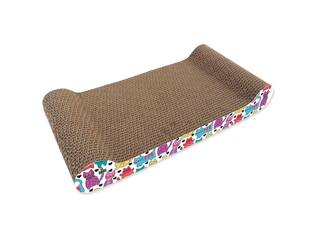 škrabadlo pre mačku karton sofa 5