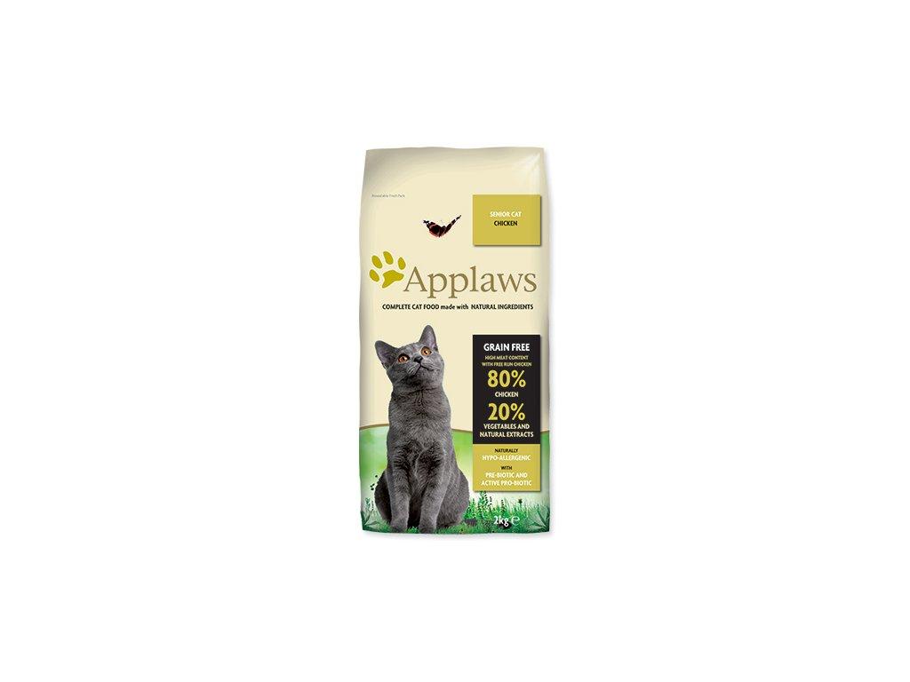 APPLAWS Dry Cat Senior dogee sk