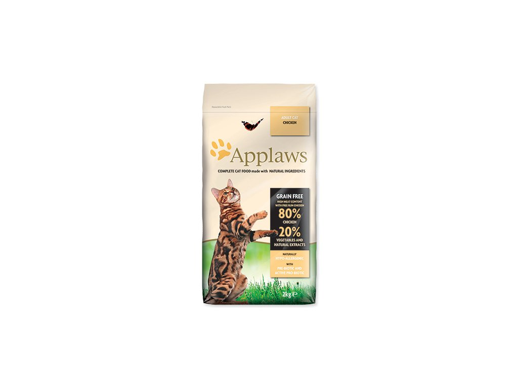APPLAWS Dry Cat Chicken 2 kg dogee sk