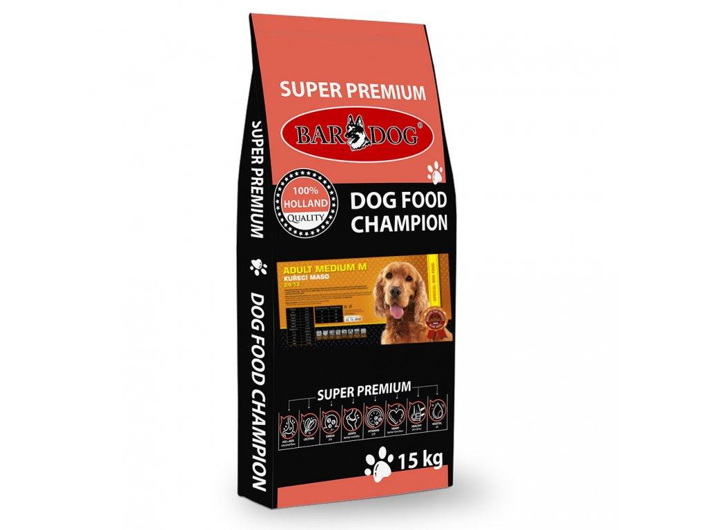 bardog adult medium 15 kg dogee sk