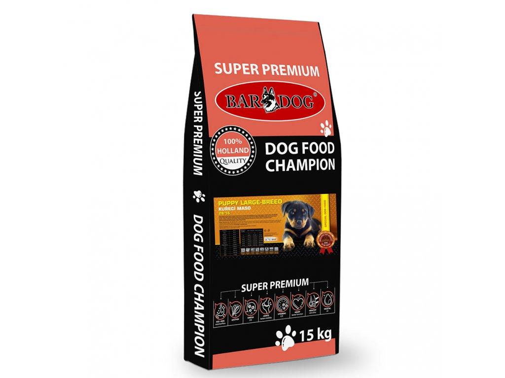 bardog puppy large breed 15 kg dogee sk