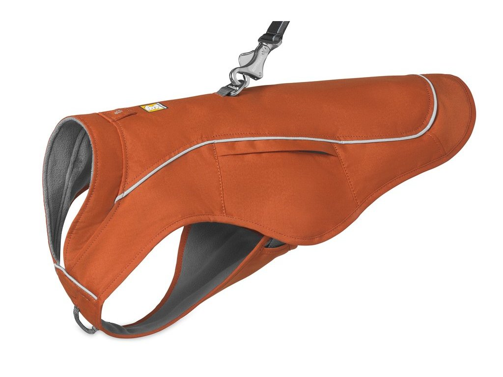 ruffwear vesta pre psov overcoat fuse jacket orange 01 dogee