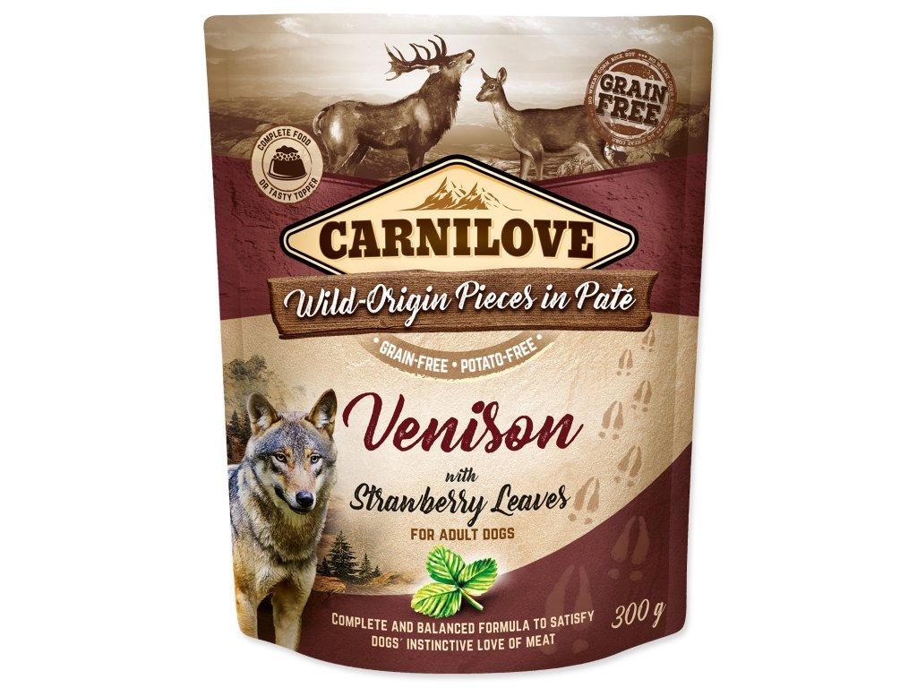 kapsička carnilove pre psy venison jeleň