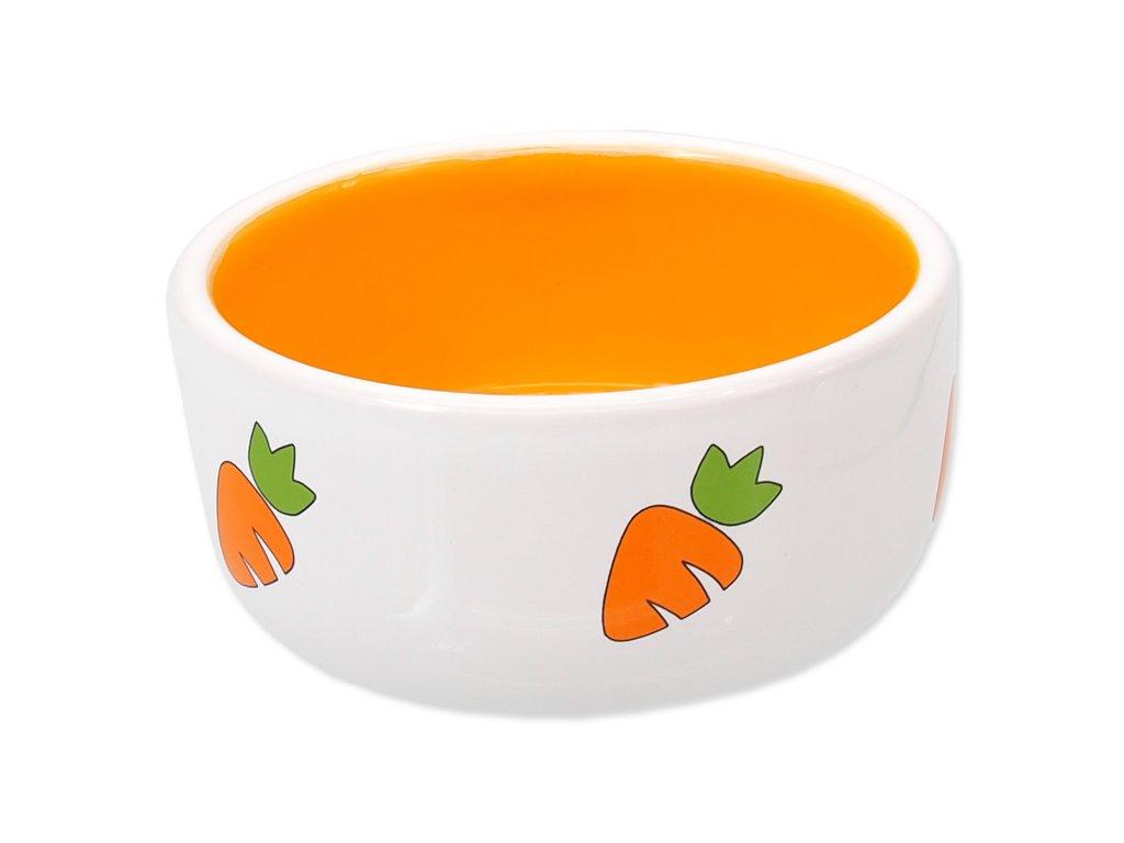 miska pre hlodavce mrkva