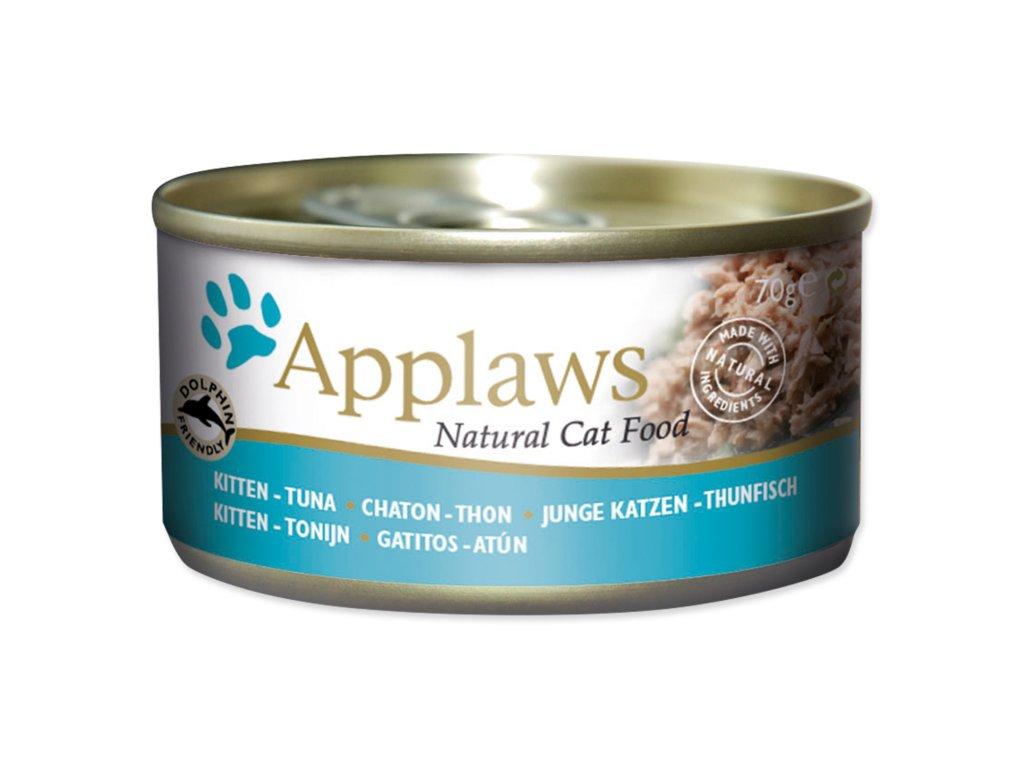 applaws kitten tuna konzerva pre mačky dogee