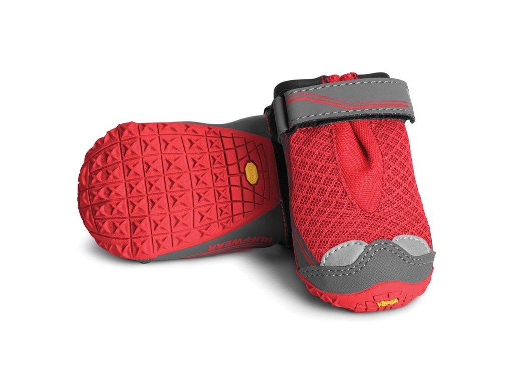 grip trex Red Currant topanky pre psov Ruffwear