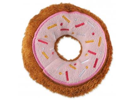 plysova hracka pre psy donut ruzovy dogee