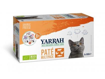 Yarrah BIO Paté pre mačky dogee mix