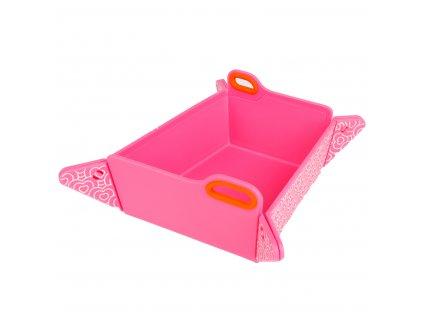 miska pre psa chop2 růžová