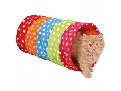 tunel pre mačky trixie farebny