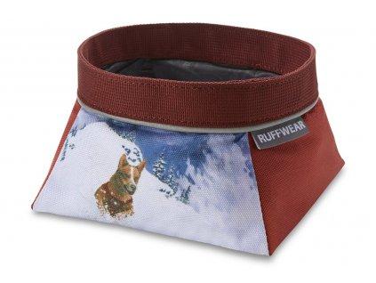 Artist Series Quencher Bowl Mount bailey miska ruffwear