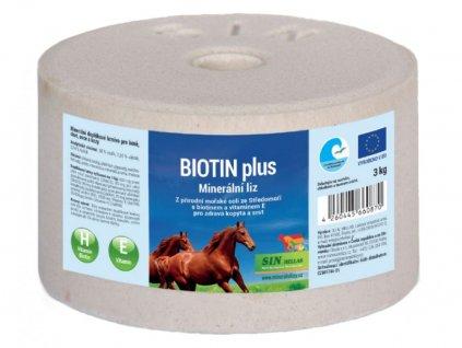 biotin plus mineralni liz s biotinem a selenem a vitaminem e SIN Hellas