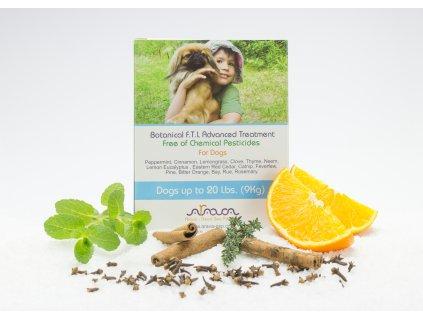 ARAVA bylinné antiparazitné pipety pre psov 0-9 kg, 4x4ml