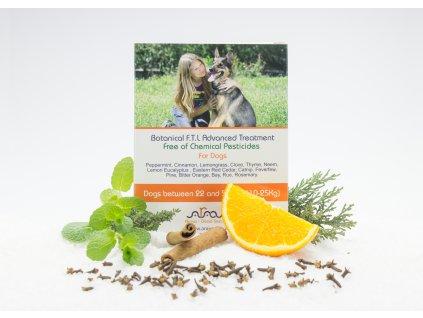 ARAVA bylinné antiparazitné pipety pre psov 10-25 kg, 4x6ml