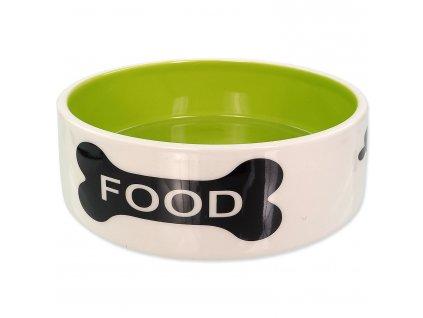 miska pre psy čierna kost food