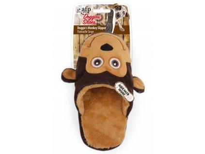 plyšová hračka pre psy opica
