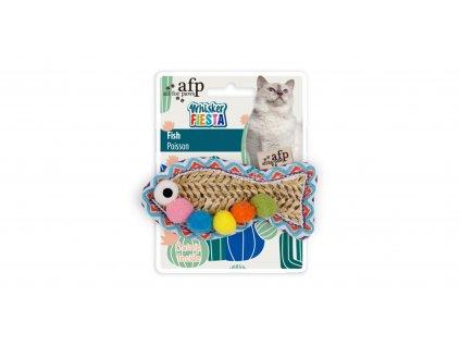 hračka pre mačky rybka so šantou afp