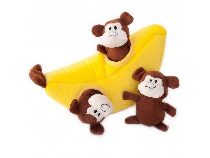 funky dogs opice hračka pre psov 02