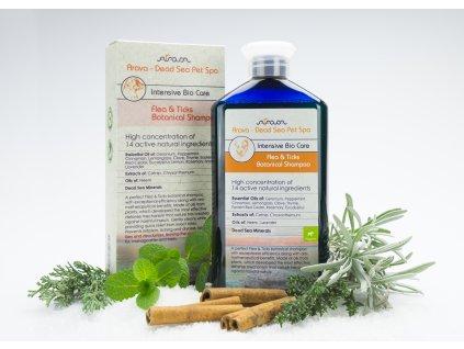 Arava Bylinný Antiparazitný šampón pre šteniatka 400 ml