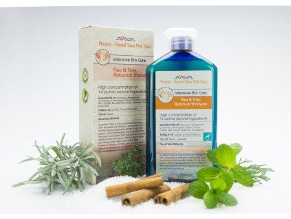 Arava Bylinný Antiparazitný šampón pre dospelé psy 400 ml