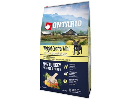 Dog Mini Weight Control Turkey & Potatoes (6,5kg)