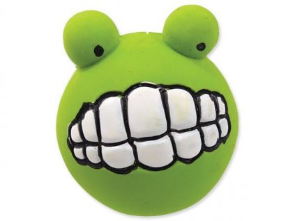 0195630 hracka dog fantasy latex zuby se zvukem zelene 6 cm 600