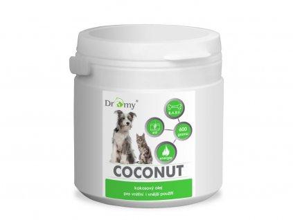 dromy kokosovy olej