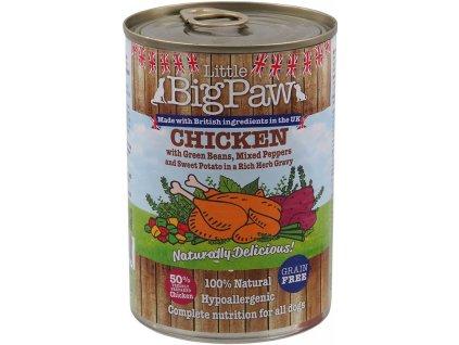 konzervy pre psov LBP dogee sk kura