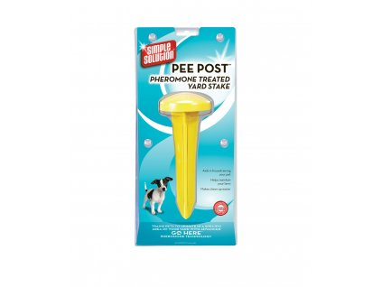 simple solution pee post pheromone treated yard stake 1