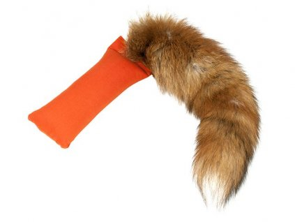 mystique dummy fox tail je maly dummy so skutocnym liscim chvostom