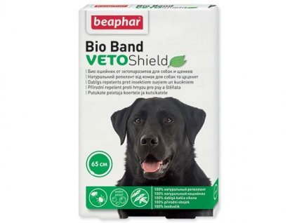 0200050 obojek repelentni beaphar bio band veto shield 65 cm