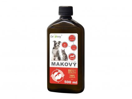 makovy olej pre psov