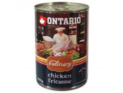 Ontario konzerva pre psov culinary fricasse kura dogee sk 02