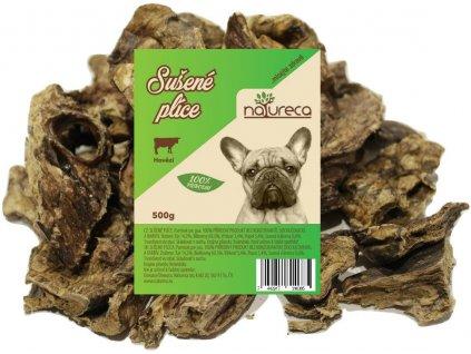 Natureca sušené hovädzie pľúca dogee pamlsok pre psikov 500g