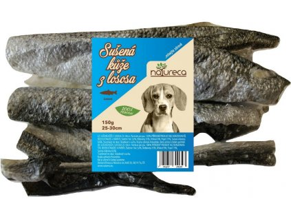 koza z lososa natureca pamlsok pre psa dogee 150g
