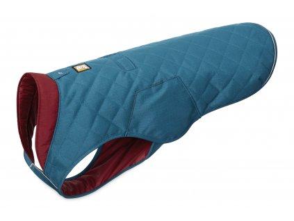 Zimná bunda pre psy Ruffwear Stumptown MetoliusBlue Left