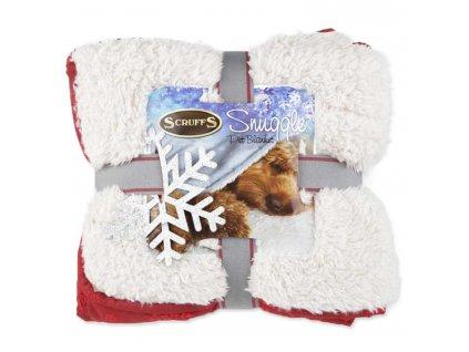 deka scruffs snuggle blanket cervena dogee sk