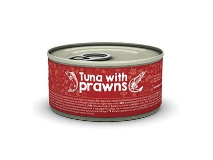 naturea cat tuniak kreveta 80g dogee sk