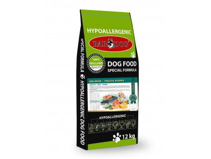 Bardog granule pre psov salmon puppy fruits