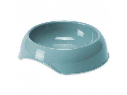 miska pre psa plast modra