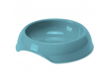 miska pre macky plast dogee modrá