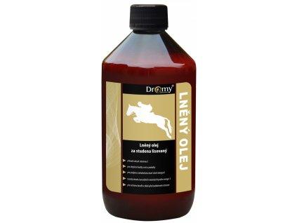 Dromy lanový olej 1000ml dogee sk