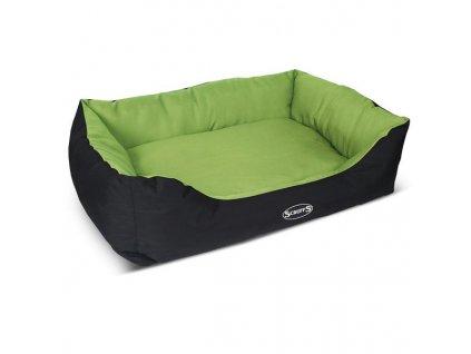 SCRUFFS pelech Expedition box bed - limetka