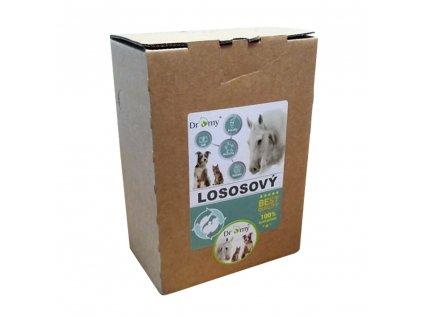 lososovy olej pre psov dromy 3 litry dogee sl