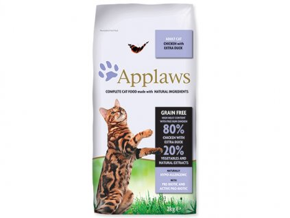APPLAWS Dry Cat Chicken with Duck kg dogee sk