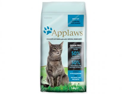 APPLAWS Dry Cat Ocean Fish & Salmon 1,8kg dogee sk
