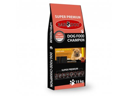 Bardog granule pre psov puppy medium M dogee