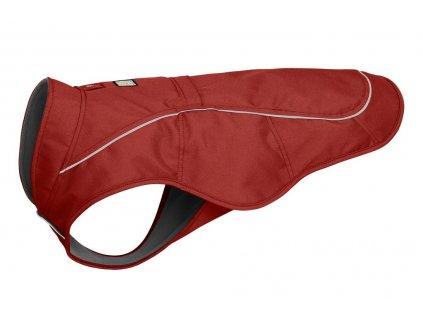 ruffwear vesta pre psov overcoat dog jacket red clay dogee 01